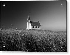 Prairie Chapel Acrylic Print