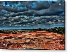 Prairie Dog Town Fork Red River Acrylic Print