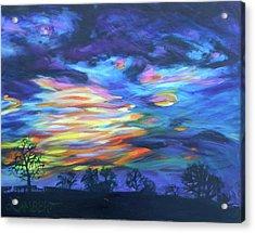 Prairie Fireworks 3 Acrylic Print