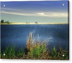 Prairie Lake Acrylic Print