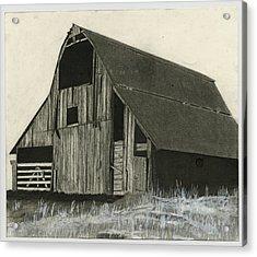 Prairie Overlook Acrylic Print by Bryan Baumeister
