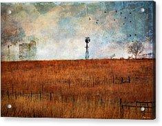 Prairie Past Acrylic Print