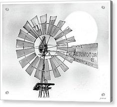 Prairie Sentinel Acrylic Print by Greg Joens
