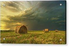 Prairie Storms Acrylic Print