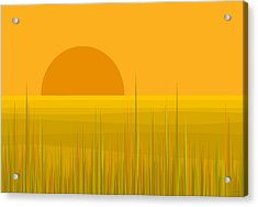 Prairie  Sundown Acrylic Print