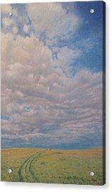 Prairie Trail Acrylic Print