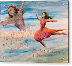 Praise His Name Acrylic Print