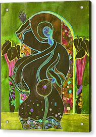 Praise Acrylic Print by Joyce Miles