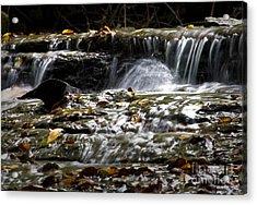 Prather-creek-rapids Acrylic Print by Fred Lassmann