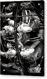 Pratt And Whitney Twin Wasp Acrylic Print by Olivier Le Queinec