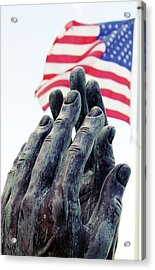 Pray For The Usa Acrylic Print