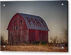 Pray Acrylic Print by JRP Photography
