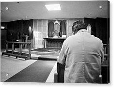 Prayer Before Mass Acrylic Print