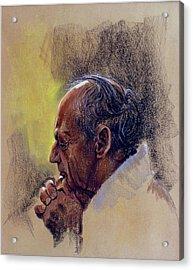 Prayer. Hope In God Acrylic Print