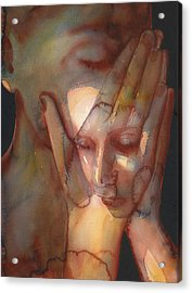 Prayer Two Acrylic Print by Graham Dean