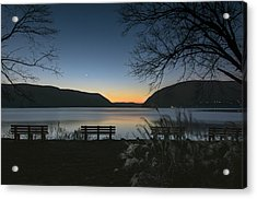 Dawn At Plum Point Acrylic Print by Angelo Marcialis