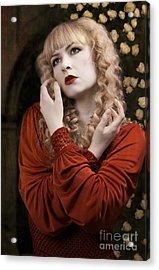 Pre-raphaelite Beauty Acrylic Print