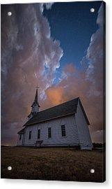 Acrylic Print featuring the photograph Preacher by Aaron J Groen