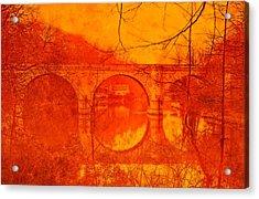 Prebends Bridge Durham City Acrylic Print