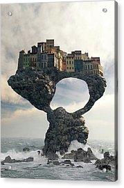 Precarious Acrylic Print