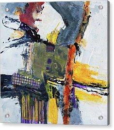 Precarious Acrylic Print by Ron Stephens