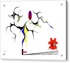 Precarious Study No.7 Acrylic Print