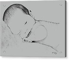 Precious Baby Acrylic Print