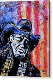 Precious Metals, Willie Americana Acrylic Print
