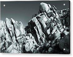Precious Moment - Juxtaposed Rocks Joshua Tree National Park Acrylic Print