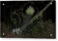 Predator Acrylic Print by Tony Rodriguez
