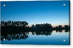 Acrylic Print featuring the photograph Predawn At Arapaho Bend by Monte Stevens