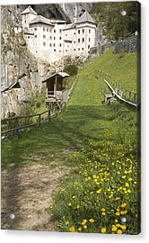 Predjama Castle Acrylic Print