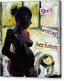 Pregnant Madonna Acrylic Print