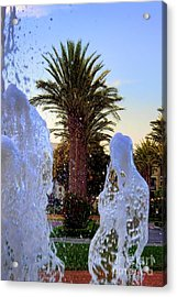 Acrylic Print featuring the photograph Pregnant Water Fairy by Mariola Bitner