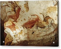 Prehistoric Artists Painted Robust Acrylic Print by Sisse Brimberg