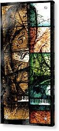 Preludio V Acrylic Print by Gary Bodnar