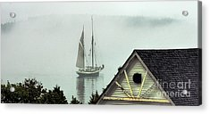 Preparing To Sail Acrylic Print by Christopher Mace