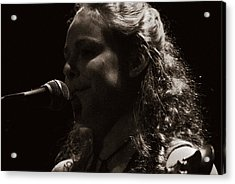 Acrylic Print featuring the photograph Presenting Ms. Rachel by Karen Musick
