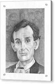 President  Abraham Lincoln Acrylic Print by Julian  B