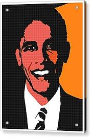 President Barack Obama 2 Acrylic Print by Otis Porritt