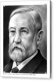 President Benjamin Harrison Acrylic Print by Greg Joens
