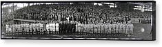 President Coolidge And The Washington A.l. And New York N.l. World's Series Baseball Teams Acrylic Print by Panoramic Images