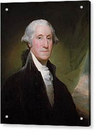 President George Washington Acrylic Print