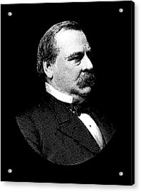 President Grover Cleveland Graphic Acrylic Print