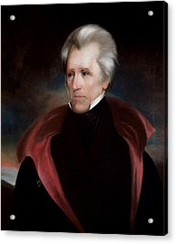 President Jackson Acrylic Print by War Is Hell Store