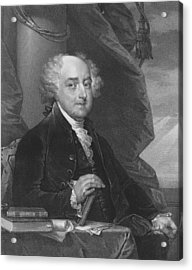 President John Adams - One Acrylic Print