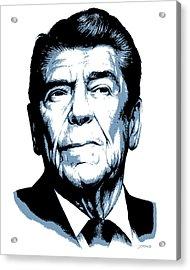 President Reagan Acrylic Print by Greg Joens