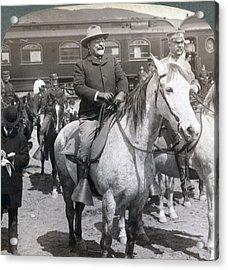 President Roosevelts Western Tour-- Acrylic Print