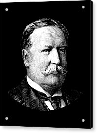 President William Howard Taft Acrylic Print by War Is Hell Store