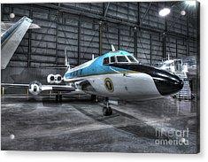 Presidential Aircraft - Lockheed Vc-140b Jetstar  Acrylic Print